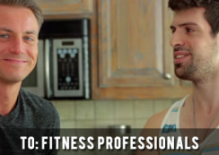 To Fitness Professionals