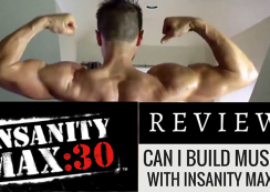 NSANITY MAX 30 REVIEW - Can I Build Muscle with Insanity Max 30?